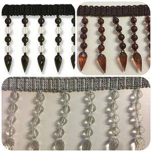 multiple images beaded trim