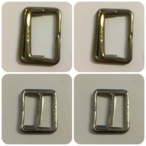 Antique & Chrome Waistcoat Buckles Wholesale Packs