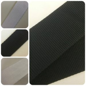 Black & White Polypropylene Webbing Sewing Supplies Wholesale