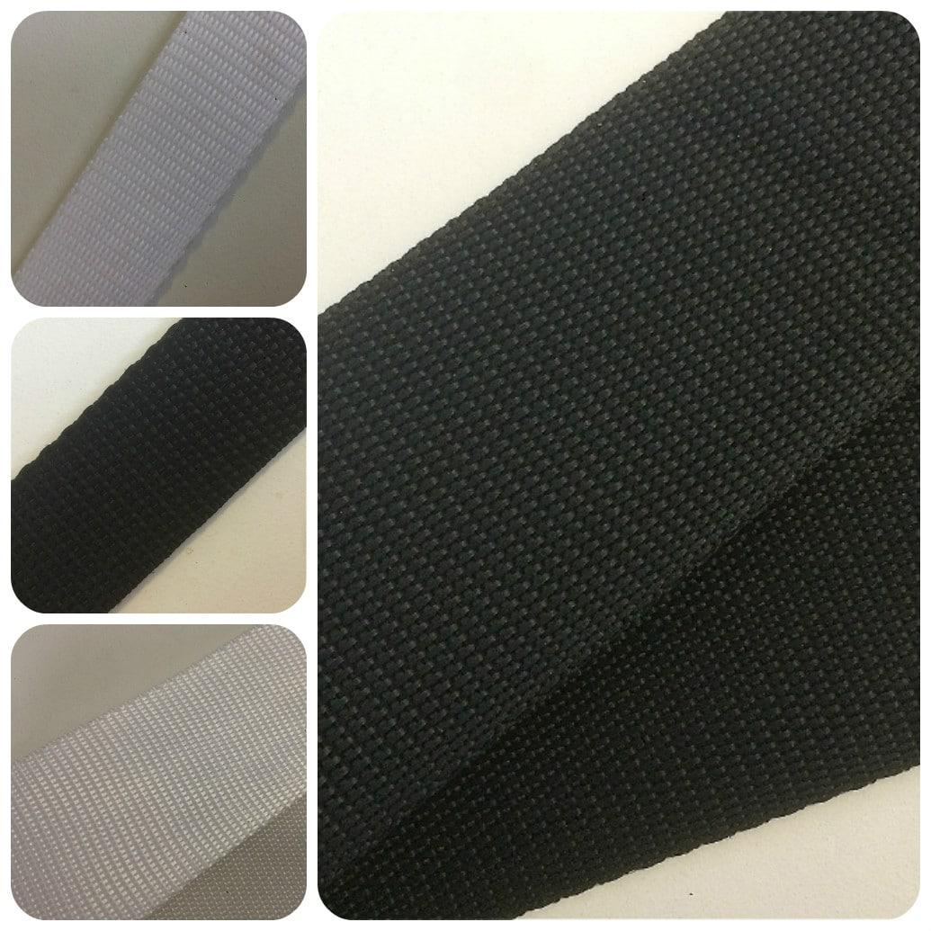 Black & White Polypropylene Webbing Sewing Supplies Wholesale