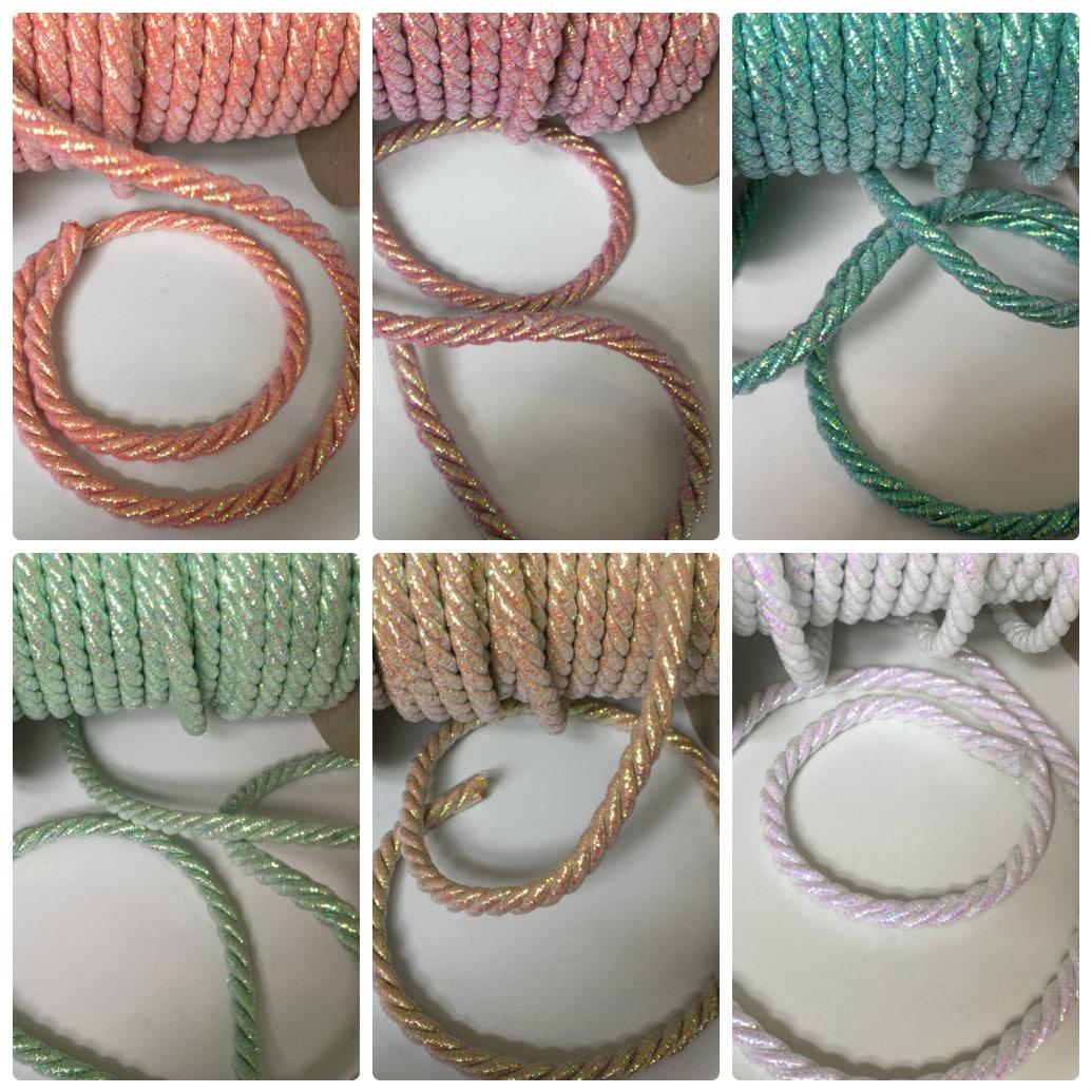 10 metres Metallic Wool Cord