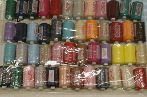Superstitch 1000 Yard Mixed Colours Sewing Polyester Thread Wholesale