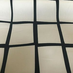 black and white large squares upholstery fabric online