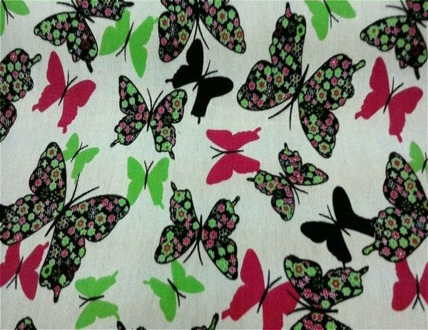 white background green black and pink fabric online