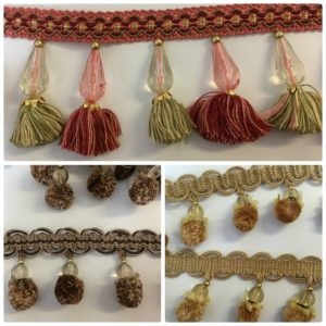 key tassels braid trim