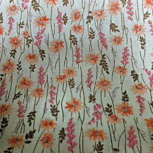 pink brown and orange fabric online