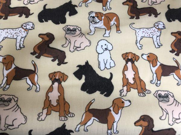 dog patterned fabric