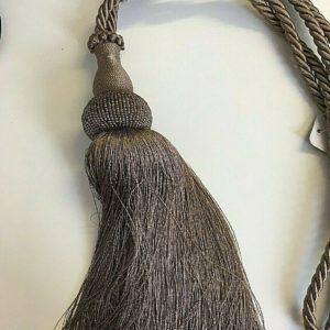 key tassels mink curtain tie back