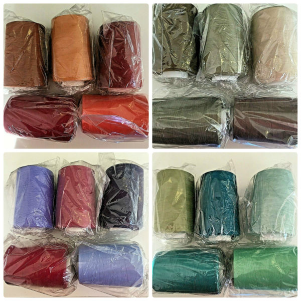 Core Spun 5000 yard Sabre Super Strong Sewing Thread Wholesale Cones