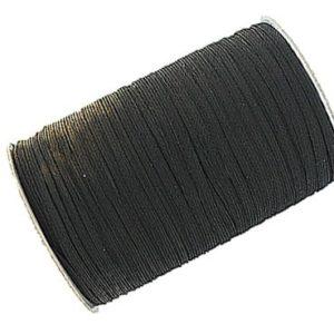 Black 12 Cord (10mm) Elastic Roll 150 Metres Wholesale Price
