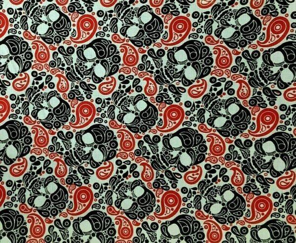 Skull Dress Fabric