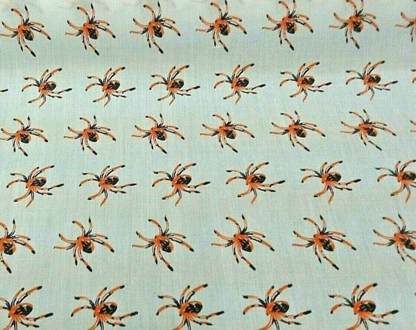 Spider cotton dress fabric for craft wholesale fabrics and dress making