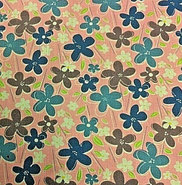 floral cotton dress fabric