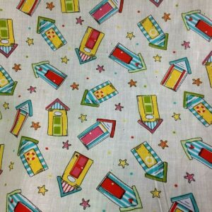 beach cotton dress fabric