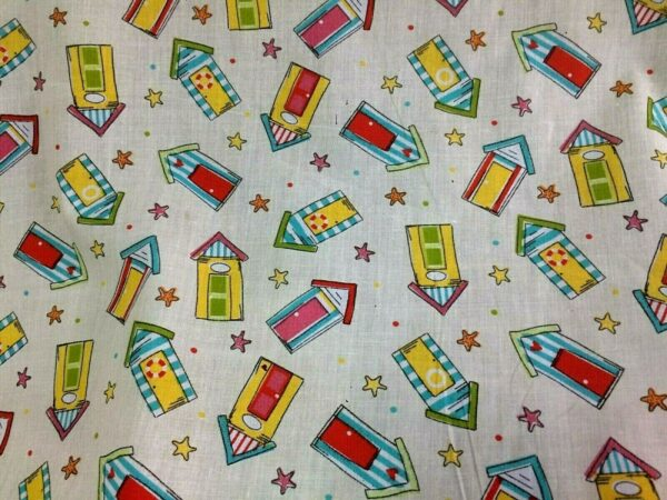 beach cotton dress fabric