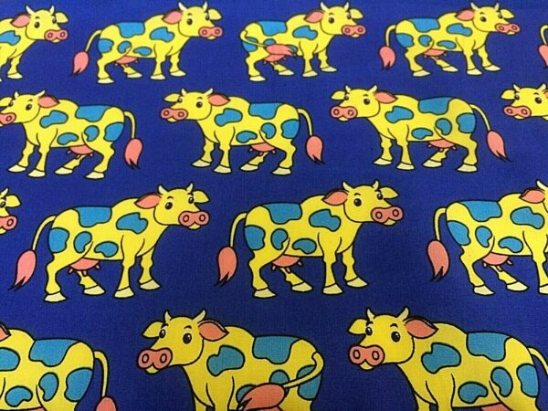 cow cotton dress fabric for craft wholesale fabrics and dress making