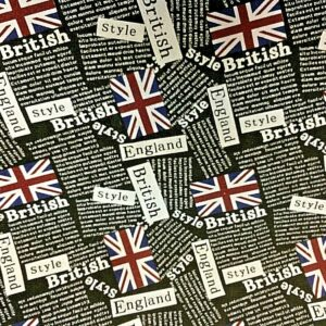 British Flag fabric online for craft wholesale fabrics
