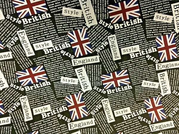 British Flag fabric online