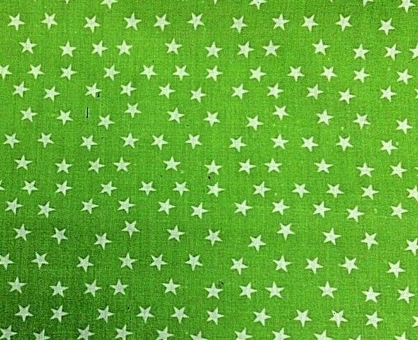 green star cotton dress fabric