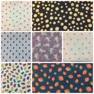 Autumn Season New Patterned Polycotton Dress/Craft Fabric Designs