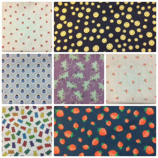 Autumn Season New Patterned Polycotton Dress/Craft Fabric Designs