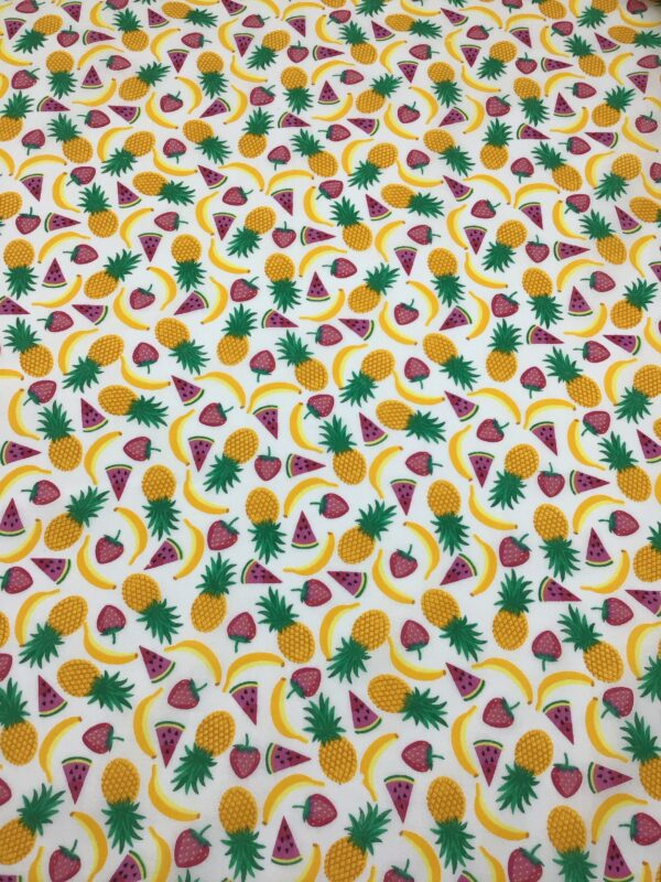 fruit patterned polycotton fabric for craft wholesale design