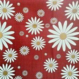 red daisy dress fabric for craft wholesale fabrics
